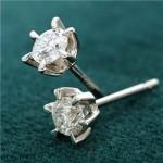 【プラチナサンシャインダイヤモンドピアス0.3ct】太陽のように輝かくダイヤモンド